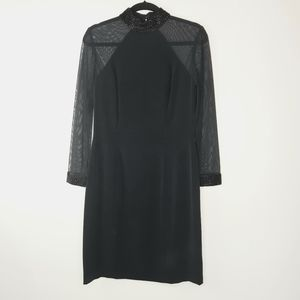 Black Tie Neiman Marcus Black Dress Size 10